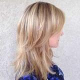 Стрижка на тонкие волосы до плеч (фото)